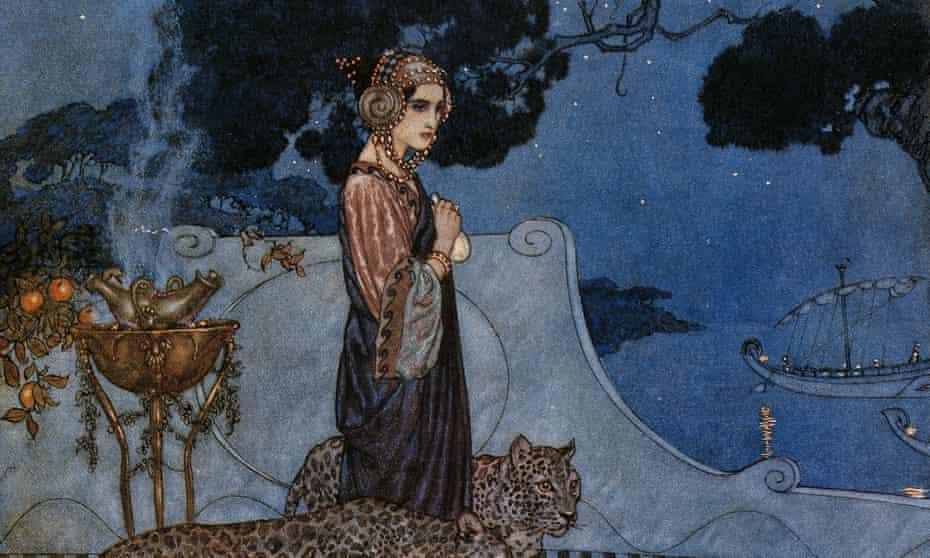 Circe (The Enchantress), 1911, by Edmund Dulac.