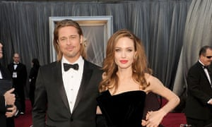 Brad Pitt and Angelina Jolie in happier times