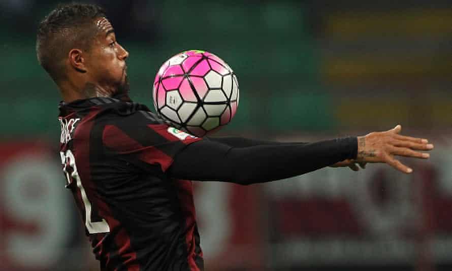 Boateng at Milan