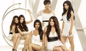 The Kardashian-Jenner family in 2007 at the start of their TV reality show: (from left) Kendall, Kylie, Kourtney, Kris, Khloe and Kimberly