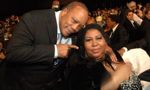 Quincy Jones and Aretha Franklin in 2008
