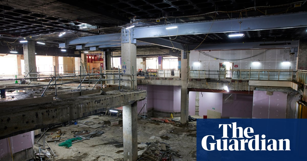 Broadmarsh, Nottingham: city tries to rebuild itself as shopping centre goes