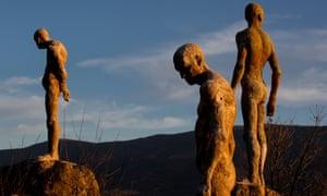 A monument to Franco's victims by sculptor Francisco Cedenilla