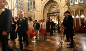 MPs before the Queen's speech