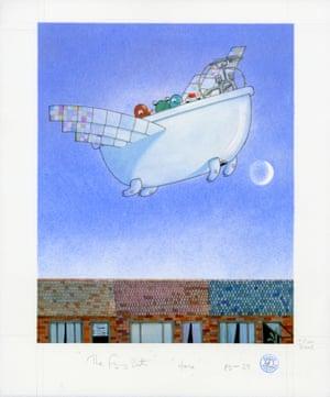 David Roberts-Flying Bath