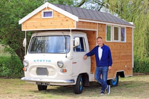 Austin Camper Shed, by Stephen Alleyne in Norfolk, shortlisted in the Cabin & Summerhouse category
