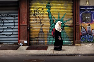 Avenue B Liberty: Carrying her camera at all times was the key to this shot in her neighbourhood on the Lower East Side of New York