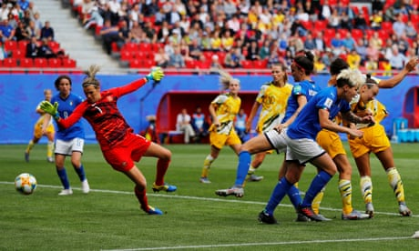 Australia stunned by late Italy winner at Women's World Cup