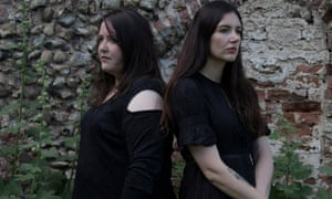 Voices whipping in and out of tune … Laura Cannell and Polly Wright.
