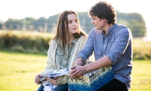 Jodie Comer and Aneurin Barnard in Thirteen.