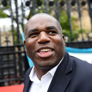 Politicians in Westminster, London, UK - 25 Sep 2019Mandatory Credit: Photo by James Veysey/REX/Shutterstock (10423542t) David Lammy arrives at the Houses of Parliament after the end of the prorogation. Politicians in Westminster, London, UK - 25 Sep 2019