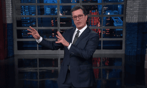 Stephen Colbert: 'With any luck, Loose Ends is their code name for Don Jr.'