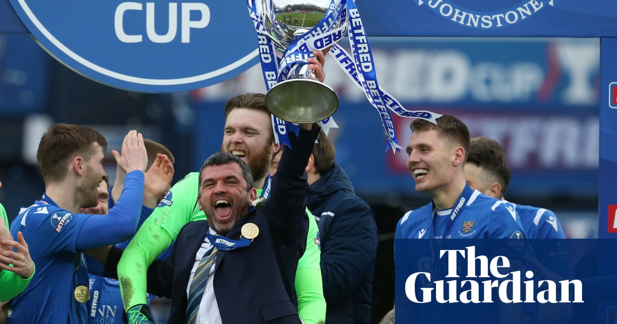 St Johnstone sink Livingston to claim their first Scottish League Cup