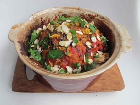 Jamie Oliver's roasted cauliflower