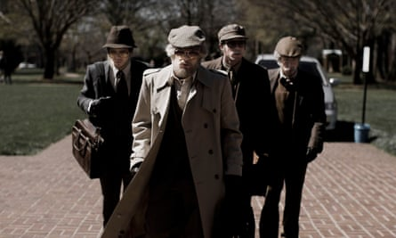 Excitingly authentic … the heist sequence in American Animals.
