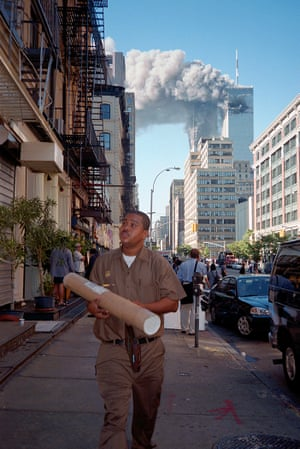 September 11th, New York, NY 2001 from ? The Image as Question at the Michael Hoppen Gallery