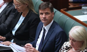 Angus Taylor during question time