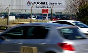 Vauxhall's Ellesmere Port car plant