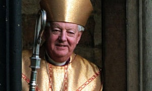 David Jenkins, the former bishop of Durham.