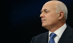 Iain Duncan Smith had a strained relationship with Treasury officials