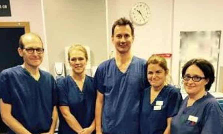 Jeremy Hunt and doctors