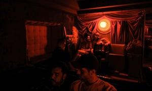 An udnerground club in Tbilisi.