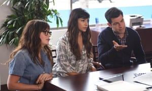 Max Greenfield, right, as Schmidt in New Girls.