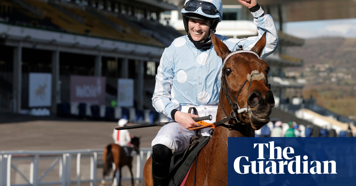 Rachael Blackmore on Champion Hurdle triumph: 'If you want to do something, go and do it'