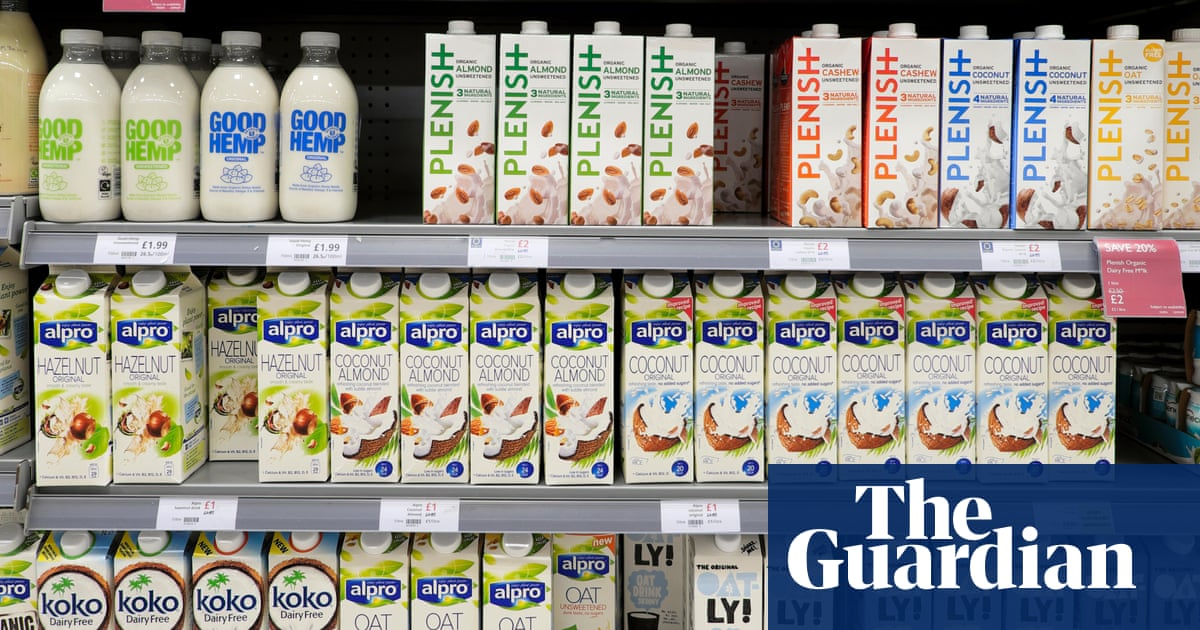 One in three Britons drink plant-based milk as demand soars