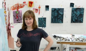 'They're a huge part of cultural life' … Fiona Rae in her studio.