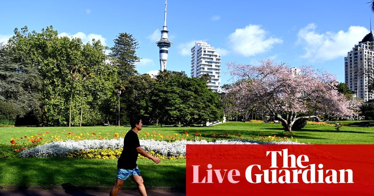 Coronavirus live: Auckland lockdown extended; psychosis cases soar in England