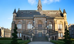 'Fantastically gothic': the McManus museum and art gallery, in the middle of Dundee.