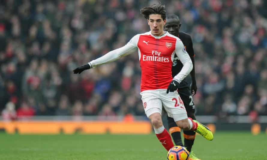 Héctor Bellerín signed a six-and-a-half contract with Arsenal last November having joined the club in 2011, from Barcelona, aged 16
