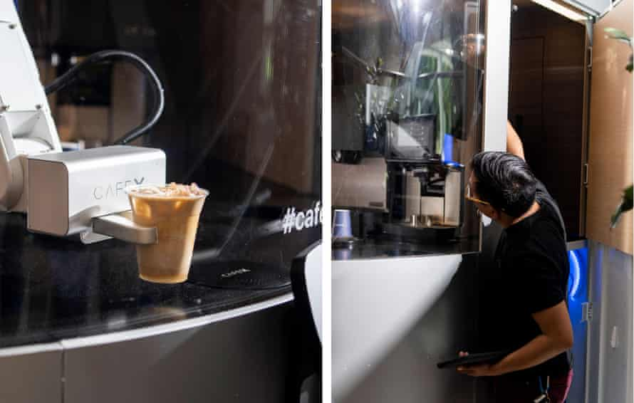 Francisco, the robot, offered the same high-quality options as most other coffee shops.