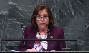 Hilda Heine says accusations she is destroying Marshall Islands' financial reputation are 'baseless'.