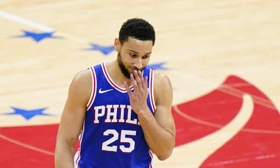 Ben Simmons could be on the trading block after a miserable post-season in the NBA. The Philadelphia 76ers All-Star guard has been urged not to quit the Boomers, Australia's national basketball team, as they push for a maiden Olympic Games medal.