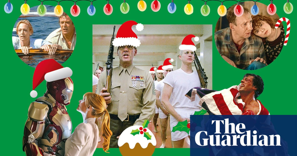 Full Metal Jacket to Rocky IV: the least festive Christmas movies ever