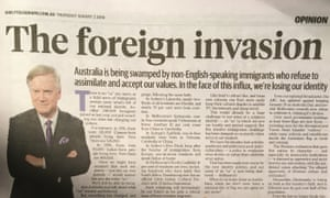 Andrew Bolt's opinion piece in the Daily Telegraph on 2 August.