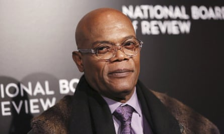 'So, we're having beef?' ... Samuel L Jackson was unaware of a Twitter feud with Donald Trump until it was highlighted in a TV interview.