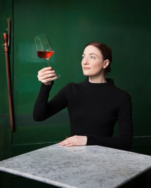 Paisley Tara Kennett, manager of the Noble Rot wine bar and restaurant in London.