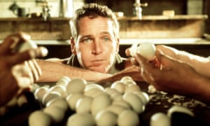 Blue-eyed boy … Paul Newman in Cool Hand Luke.