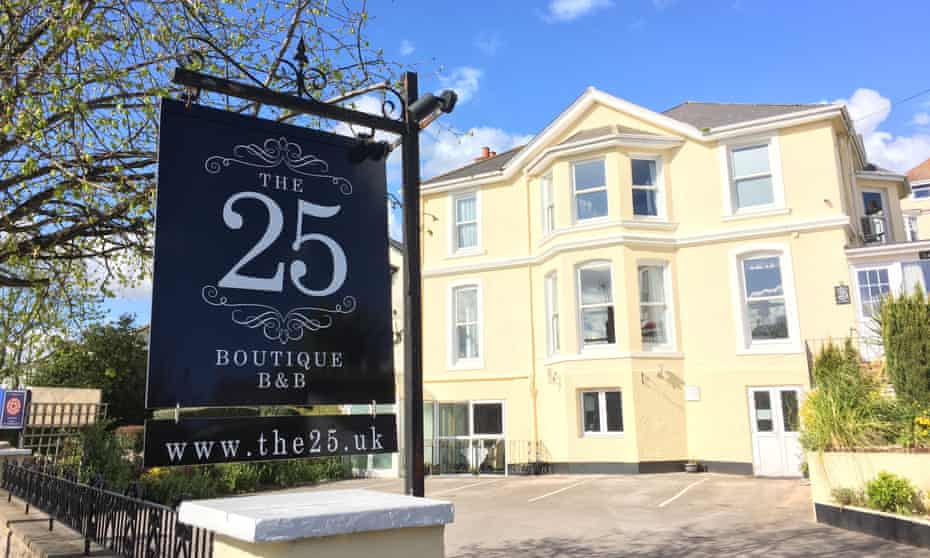 The 25 boutique B&B in Torquay