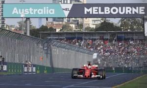 Ferrari driver Sebastian Vettel of Germany