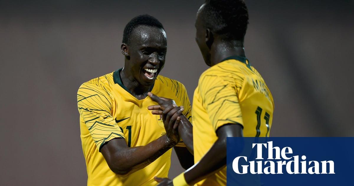 'I feel like I'm dreaming': Awer Mabil on scoring on Socceroos debut – v...