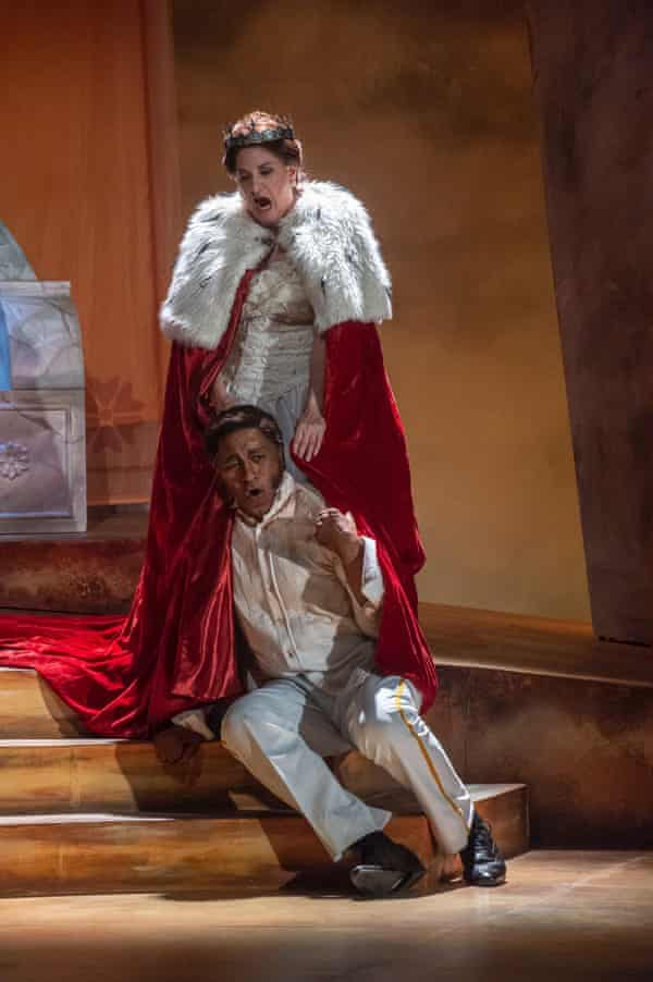 Mark S Doss and Claire Rutter in Nabucco.