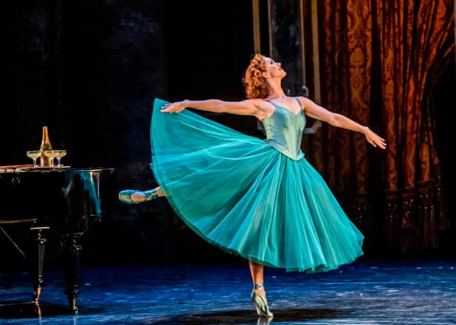 Ashley Shaw (Victoria Page) in The Red Shoes by Matthew Bourne at Sadler's Wells.