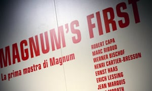A Magnum photo exhibition in Milan last year featuring some of the earliest members.