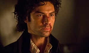 Say what you like about Aidan Turner, he is a trooper.