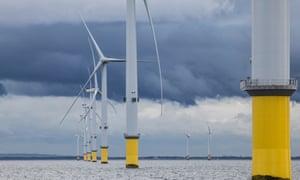 Burbo Bank Extension offshore wind farm - Merseyside