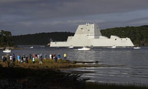 The Zumwalt sustained an engineering problem in the Panama Canal and had to be towed to port.
